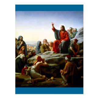 Sermon on the Mount Postcard