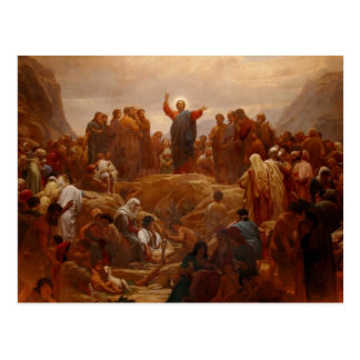Sermon on the Mount Postcard