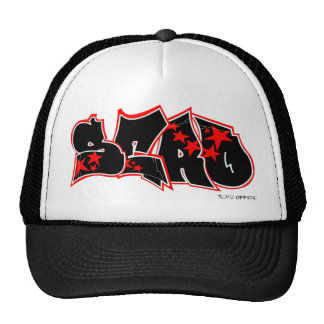 Sero Graffiti Tag-Up Trucker Hat