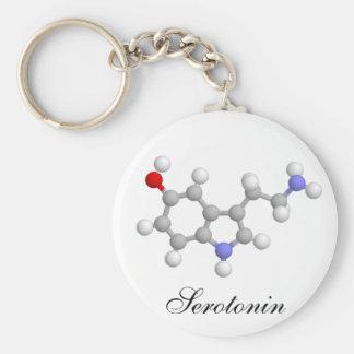 Serotonin Keychain
