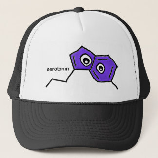 Serotonin Neurotransmitter Trucker Hat