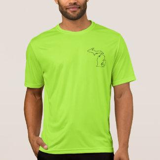 SERP Logo on a sweat wicking Sport-Tec shirt. T-Shirt