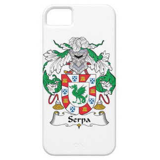 Serpa Family Crest iPhone 5 Cover