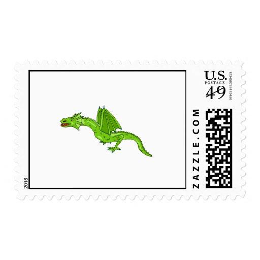Serpant Dragon Stamps