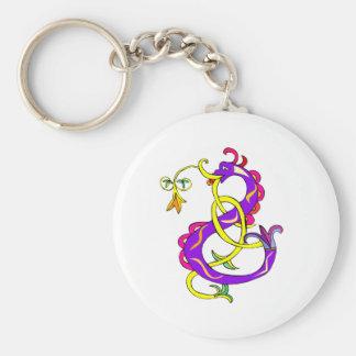 Serpantine Dragon Cute Keychain