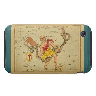 Serpens - Vintage Astronomical Star Chart Image Tough iPhone 3 Case