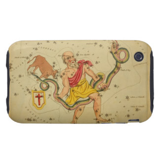Serpens - Vintage Astronomical Star Chart Image Tough iPhone 3 Covers