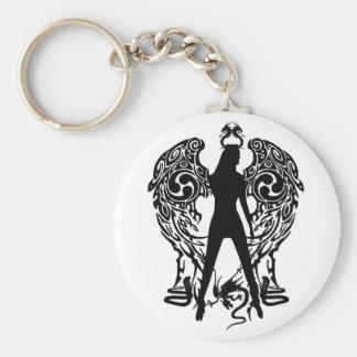 Serpent Angel Keychain