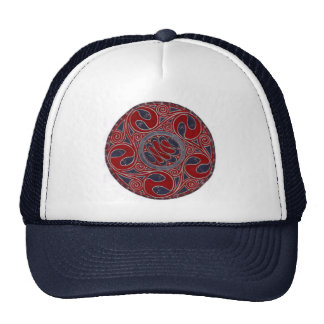Serpent Circle Trucker Hat