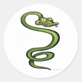 Serpent Classic Round Sticker
