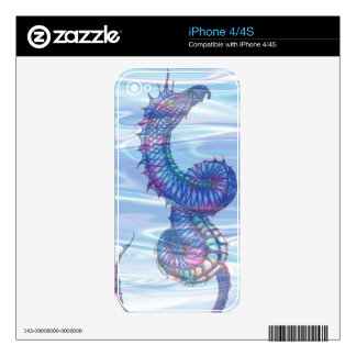 """Serpent"" Decal For The iPhone 4"