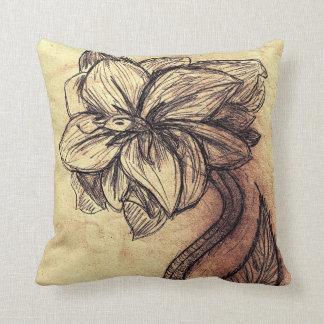 Serpent Flower Pillow