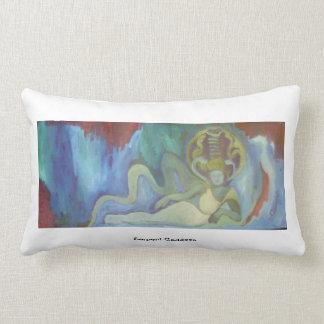 Serpent Goddess Throw Pillows