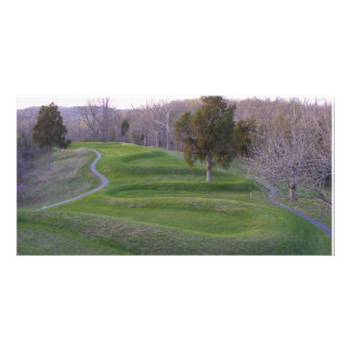Serpent Mound Customized Photo Card