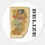 Serpent Pacal Sticker