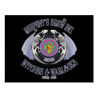 Serpent s Brew Inc Post Card