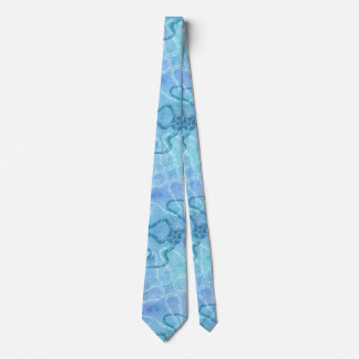 Serpent Star and Plankton Marine Life Neck Tie