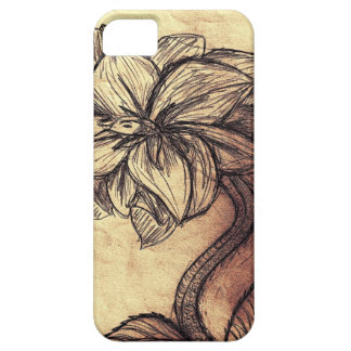 Serpent Stemmed Flower Case iPhone 5 Cases