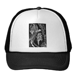 Serpent Wishes Inverted Mesh Hat