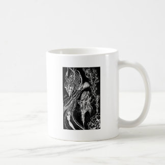 Serpent Wishes Inverted Classic White Coffee Mug