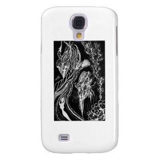 Serpent Wishes Inverted Samsung Galaxy S4 Cases