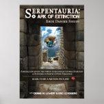 Serpentauria: Arca de extinción - cubierta de libr Posters