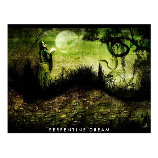 Serpentine Dream Postcard