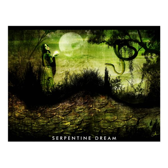 Serpentine Dream Postcard