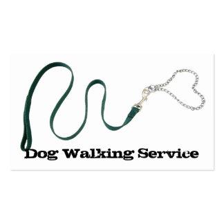 Serpentine Green Leash Heart Chain Business Card