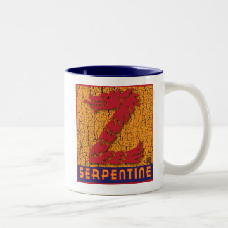 Serpentine Two-Tone Coffee Mug