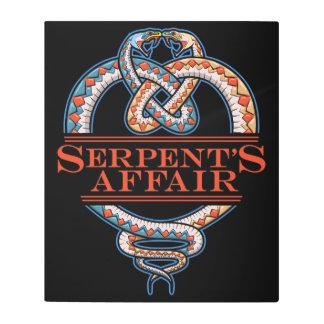 Serpents Affair Metal Print