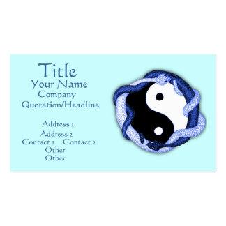 Serpents Dual (Blue) Business Card
