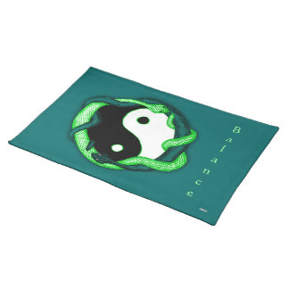 Serpents Dual (Green) Placemat