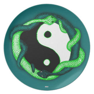 Serpents Dual (Green) Plate
