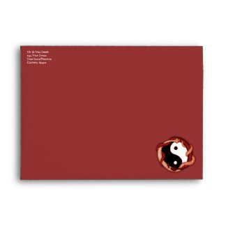 Serpents Dual (Red) Envelopes
