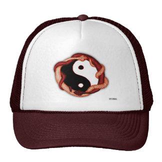 Serpents Dual (Red) Trucker Hat