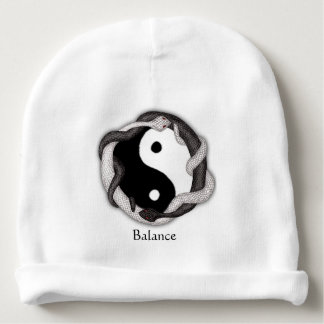 Serpents Dual (White/Black) Baby Beanie