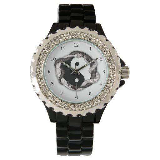 Serpents Dual Wrist Watch