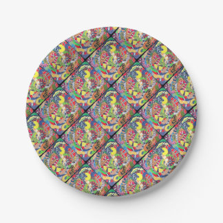 Serpents Paper Plate