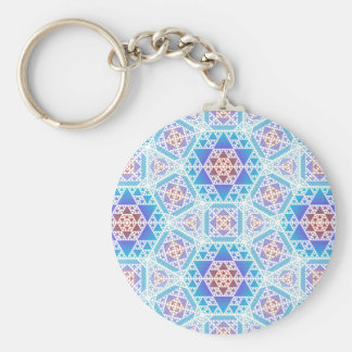Serpienski Clockwork Lg Any Color Keychain