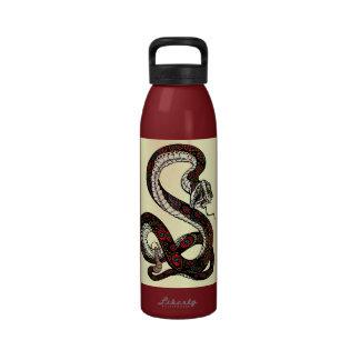 serpiente botellas de beber
