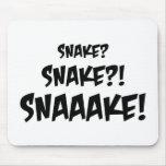 ¿Serpiente? Alfombrilla De Ratón