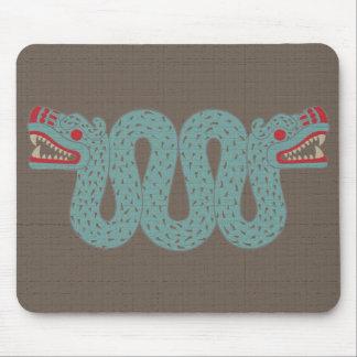 Serpiente azteca Mousepad