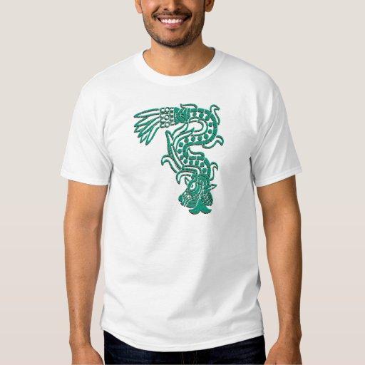 Serpiente azteca playeras