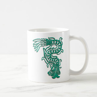 Serpiente azteca taza