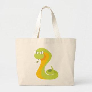 Serpiente Bolsa Lienzo