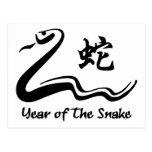 Serpiente china del zodiaco