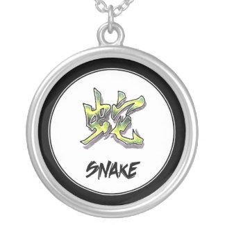 Serpiente china elegante simple fresca de la muest pendiente personalizado