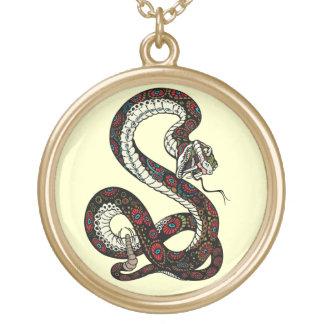 serpiente colgante redondo