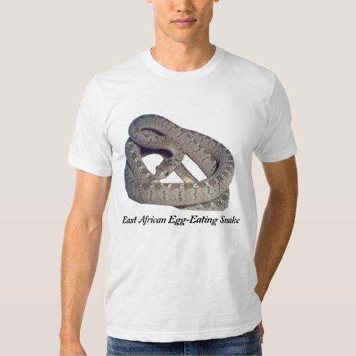 Serpiente comehuevos africana del este American Remeras